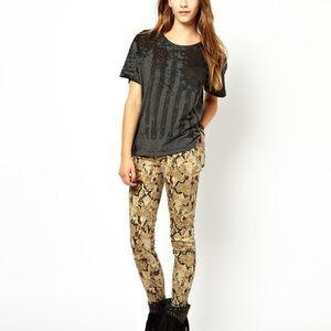 Ralph Lauren Denim & Supply Python Print Jeans
